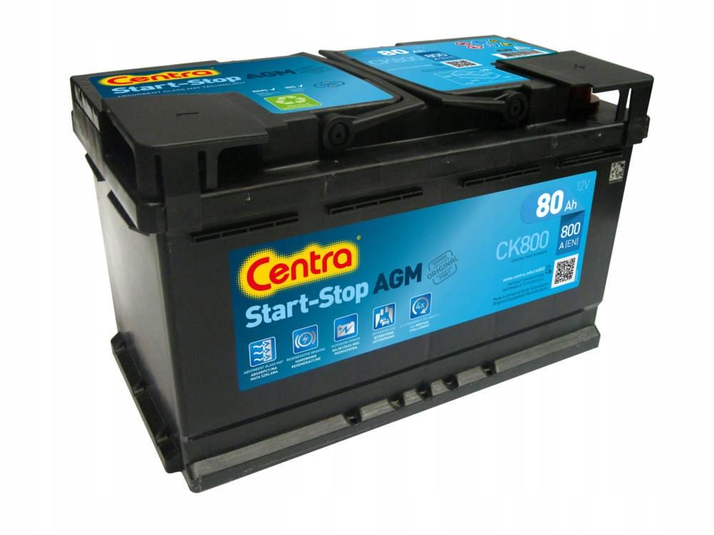 описание -  Аккумуляторы CENTRA START-STOP, AGM, GEL