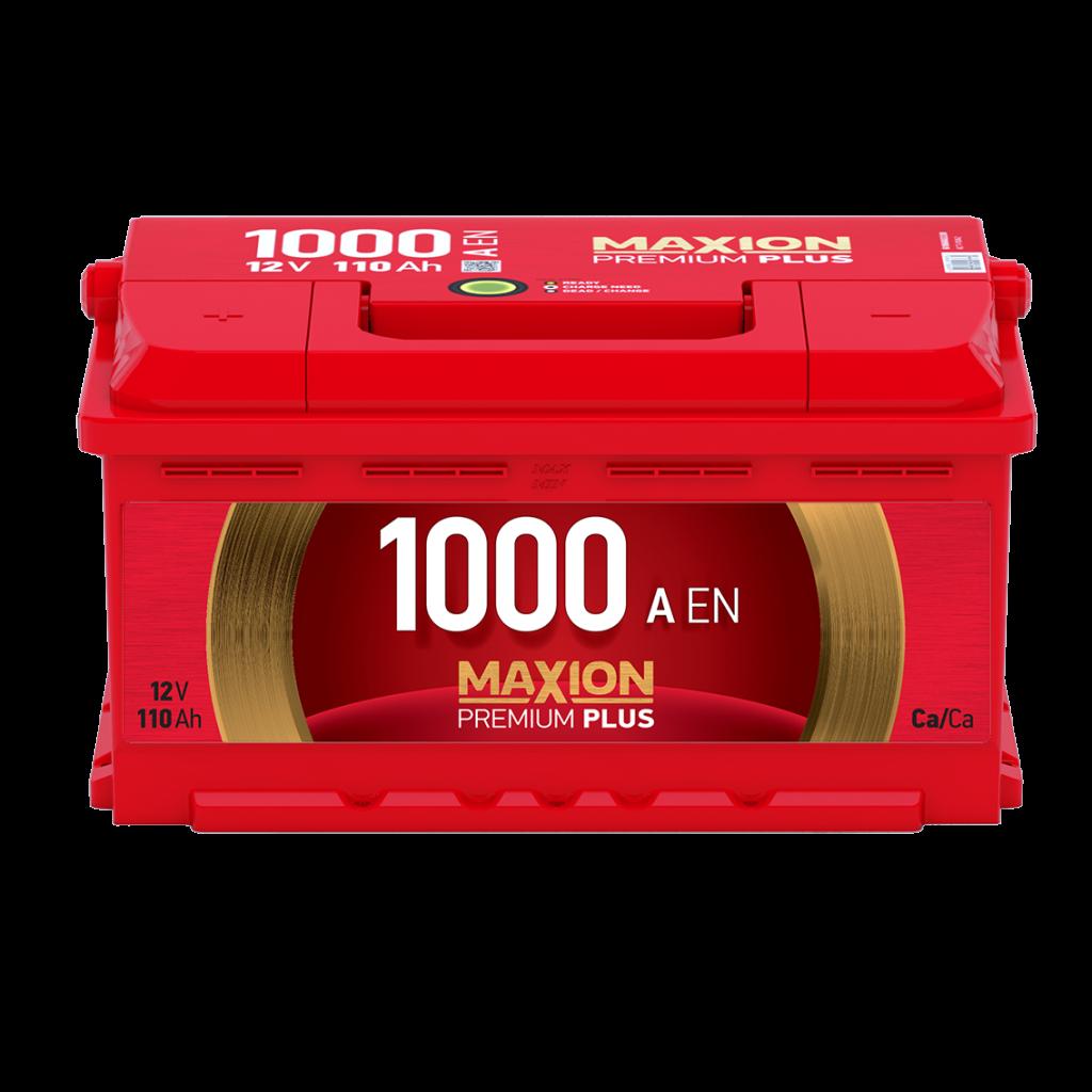 описание -  Аккумуляторы MAXION Premium Plus