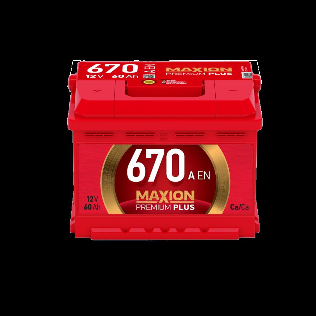 описание -  Аккумуляторы MAXION