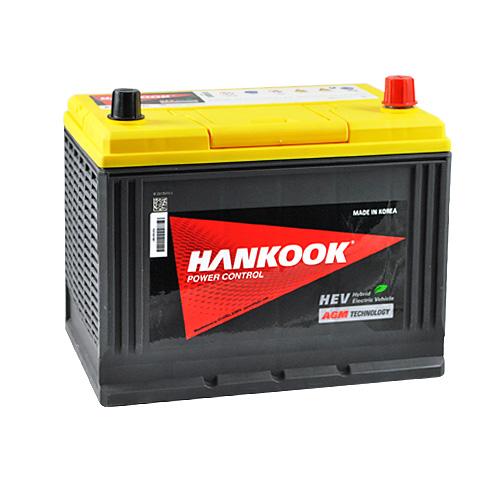 описание -  Аккумуляторы HANKOOK AGM