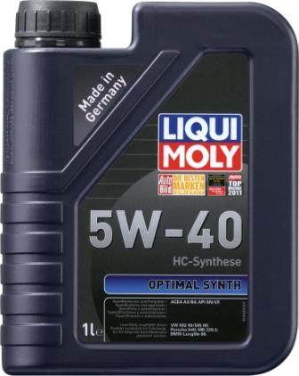 �������� ����� LiquiMoly Optimal Synth 5W40 1�