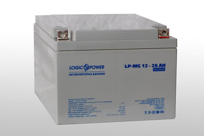 описание -  Аккумуляторы мультигелевые  LPM  - MG 12V