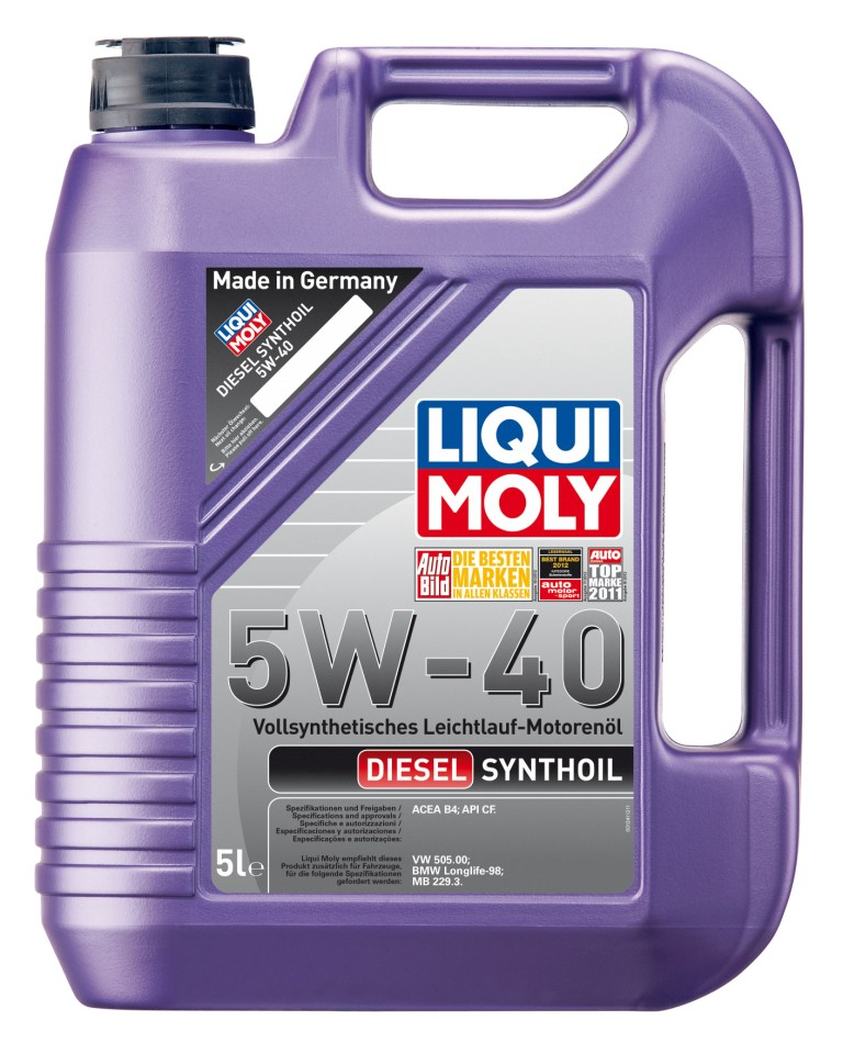 �������� ����� LiquiMoly Diesel Synthoil 5W40 5�