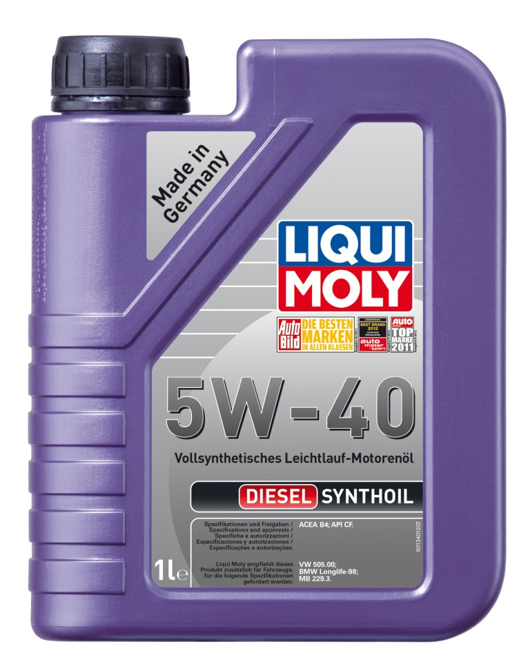 �������� ����� LiquiMoly Diesel Synthoil 5W40 1�