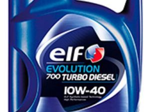 фото Моторное масло Elf Evolution 700 TURBO DIESEL 10W-40  5л