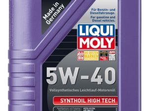 Моторное масло LiquiMoly Synthoil High Tech 5W-40 1л