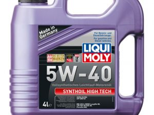 Моторное масло LiquiMoly Synthoil High Tech 5W-40  4л