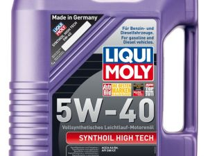 Моторное масло LiquiMoly Synthoil High Tech 5W-40 5л