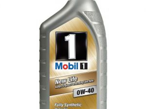 Моторное масло Mobil 1 0W-40 New Life 1л