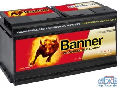 Аккумулятор BANNER RUNNING BULL - AGM 6CT-105 АзЕ