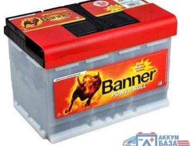 Аккумулятор Banner Power Bull Pro 6CT-77 АзЕ