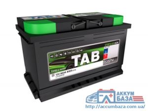 Аккумултор TAB  6СТ-80 АзЕ Start-Stop AGM Ecodry