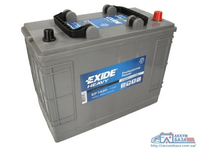 Аккумулятор Exide Professional Power 6СТ-142